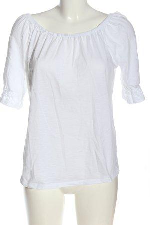 Esprit Bluzka typu carmen biały W stylu casual