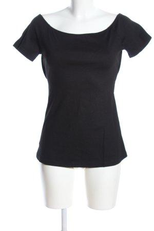 Esprit Carmenshirt schwarz Casual-Look