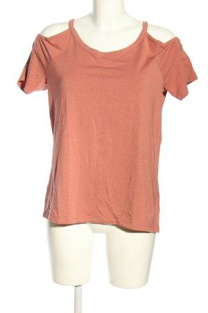 Esprit Top épaules dénudées rose chair style décontracté