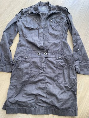Esprit Denim Cargo Dress grey cotton