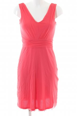 Esprit Chiffonkleid rot Casual-Look