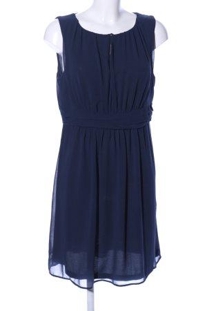 Esprit Chiffon jurk blauw casual uitstraling