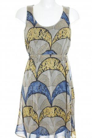 Esprit Chiffon jurk grafisch patroon casual uitstraling