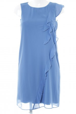 Esprit Chiffon jurk korenblauw elegant