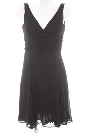 Esprit Chiffon jurk zwart feest stijl