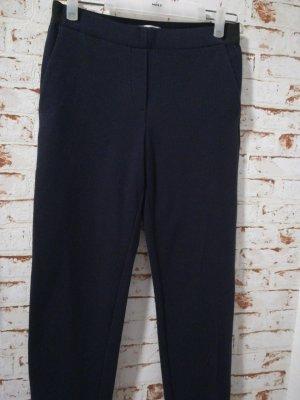 Esprit Pantalon chinos bleu coton