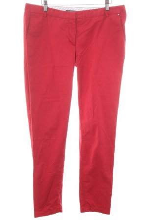 Esprit Chinohose rot Casual-Look