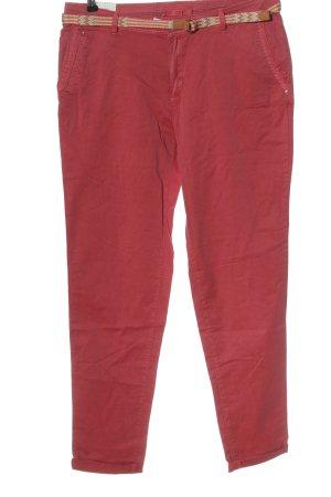 Esprit Pantalone chino rosa stile casual