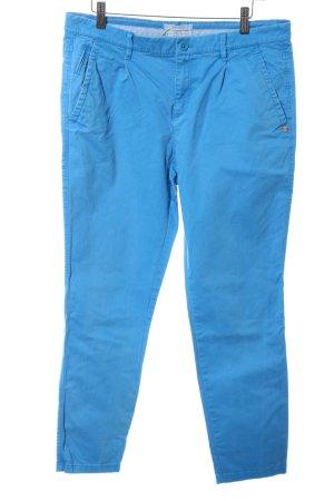 Esprit Chinohose blau Casual-Look