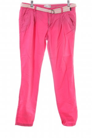 Esprit Chinohose pink Casual-Look