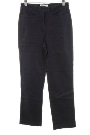 Esprit Pantalone chino blu scuro stile professionale