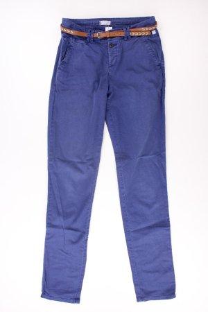 Esprit Chinohose Größe 32 blau aus Baumwolle