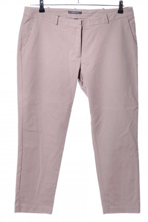 Esprit Chinohose wollweiß grafisches Muster Casual-Look