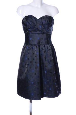 Esprit Cocktailkleid blau Allover-Druck Elegant
