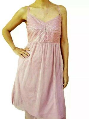 Esprit Chiffon Dress nude