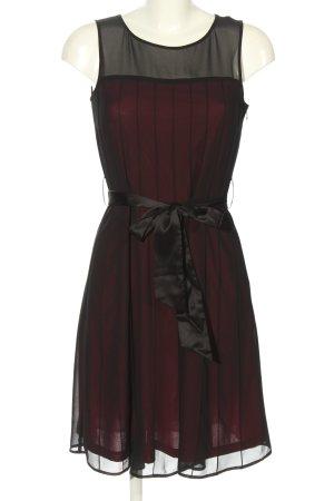 Esprit Cocktailkleid rot-schwarz Elegant