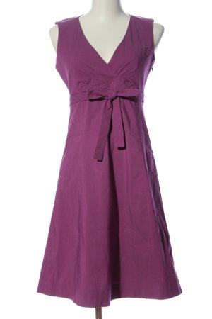 esprit collection A-Linien Kleid lila Casual-Look