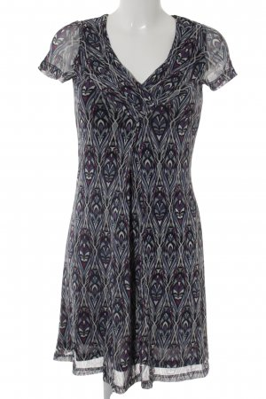 esprit collection A-Linien Kleid abstraktes Muster Casual-Look