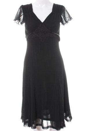 esprit collection A-Linien Kleid schwarz Elegant