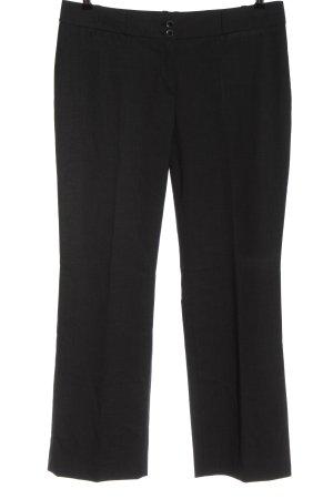 esprit collection Anzughose schwarz-weiß Streifenmuster Casual-Look