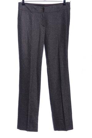 esprit collection Anzughose schwarz meliert Business-Look