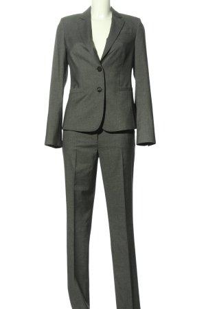 esprit collection Pantalone da abito grigio chiaro puntinato stile professionale