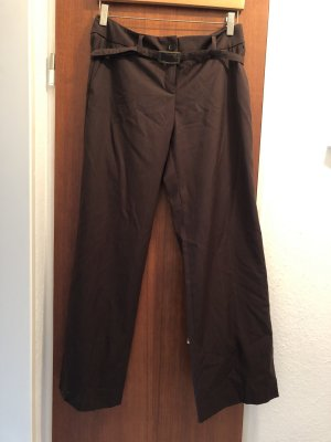 esprit collection Pantalone da abito marrone scuro
