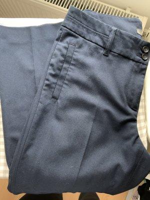esprit collection Bandplooibroek donkerblauw