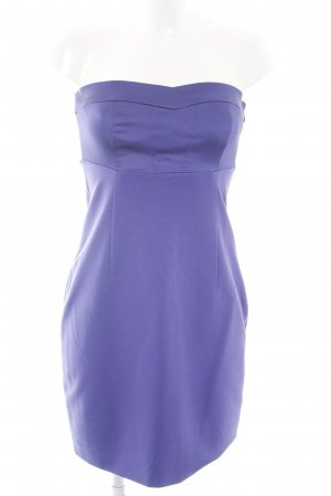 esprit collection Vestido bandeau azul elegante