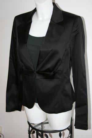 Esprit Collection Blazer Satin schwarz Gr. 40