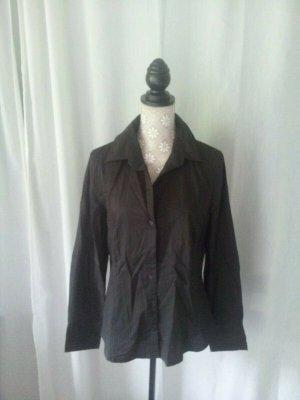 ESPRIT COLLECTION Bluse, klassisch, braun, Gr. 42, Langarm, CHIC