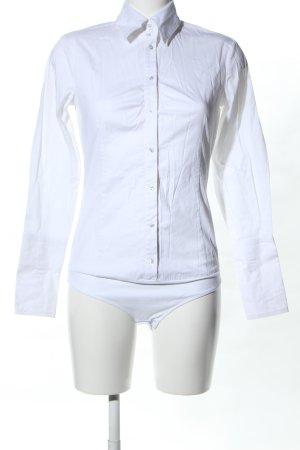 esprit collection Blusa tipo body blanco look casual