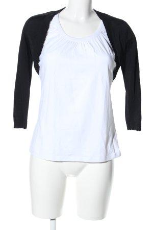 esprit collection Bolero schwarz-weiß Casual-Look