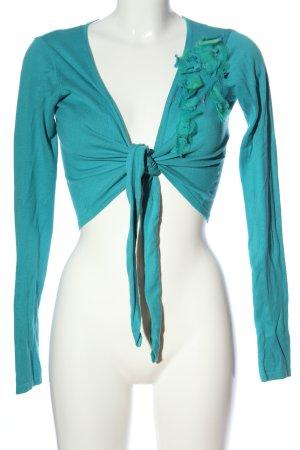 esprit collection Bolero blau Casual-Look