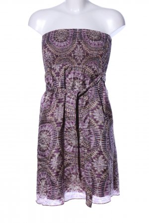 esprit collection Bustier Dress abstract pattern elegant
