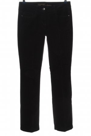 esprit collection Pantalón de pana negro look casual