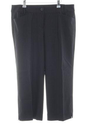 esprit collection Culottes schwarz Streifenmuster klassischer Stil