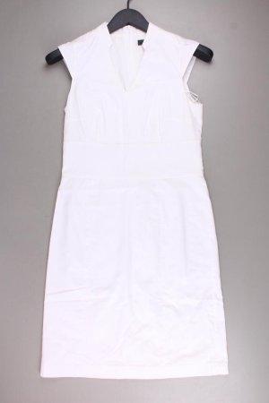 Esprit Collection Etuikleid Größe 34 Ärmellos weiß aus Baumwolle