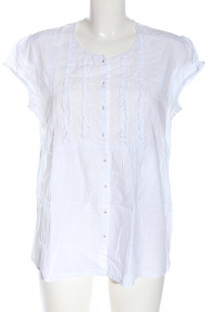 esprit collection Hemd-Bluse weiß Casual-Look