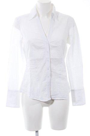 esprit collection Blouse-chemisier blanc style d'affaires
