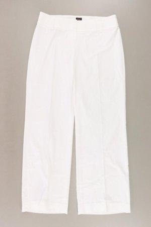 Esprit Collection Hose Größe 38 weiß aus Viskose