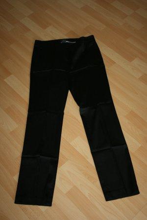 Esprit Collection Hose Satin schwarz Gr. 38
