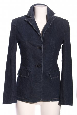 esprit collection Jeansblazer blau Casual-Look