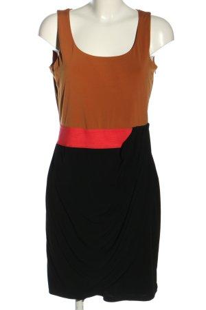 esprit collection Vestido de tela de jersey multicolor estilo «business»