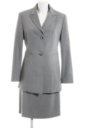 esprit collection Kostüm hellgrau meliert Business-Look