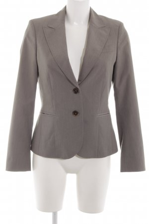 esprit collection Kurz-Blazer hellgrau Business-Look