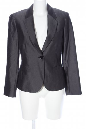esprit collection Kurz-Blazer hellgrau meliert Business-Look