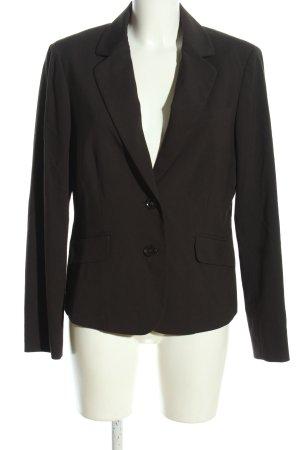 esprit collection Kurz-Blazer braun Business-Look