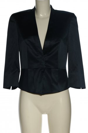 esprit collection Kurz-Blazer blau meliert Casual-Look