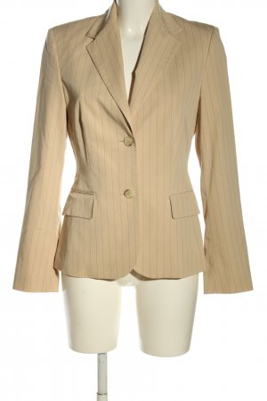 esprit collection Kurz-Blazer creme Streifenmuster Business-Look